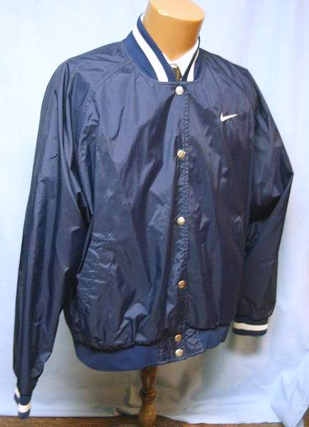 vintage womens nike navy jacket xl 1970s windbreaker rib
