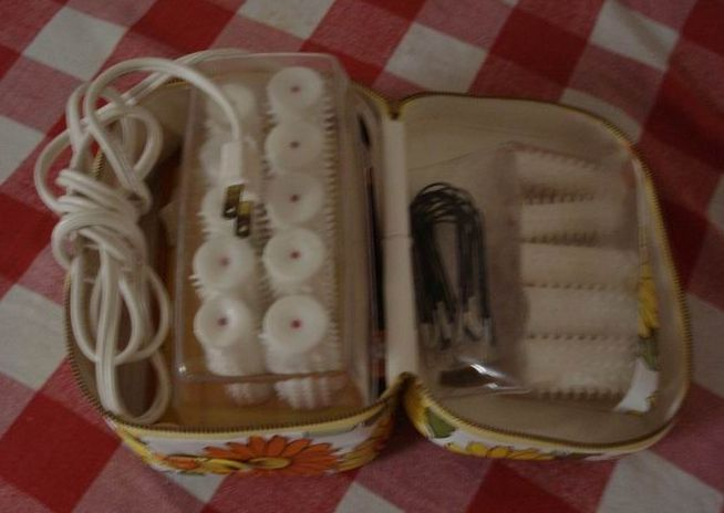 Vintage Lady Sunbeam Hot Rollers