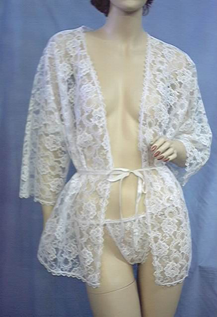 FANTASY Lingerie thong cover-up